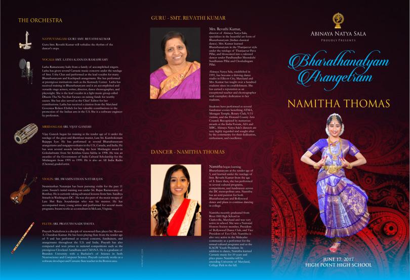 Event Brochure 3 fold
