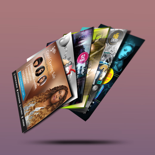 cards rackcards sizes custom design and rack primoprint card printing