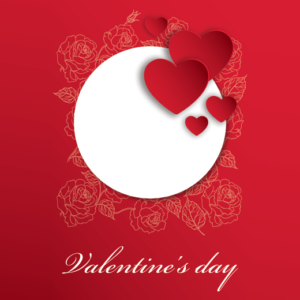 valentine's day card printing