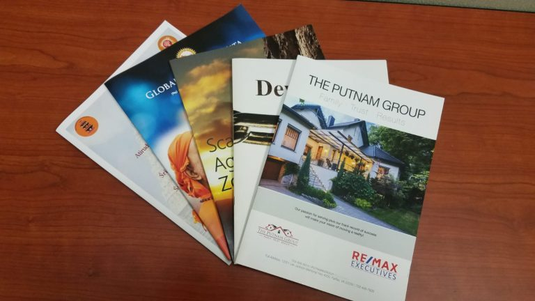 booklet printing DC Metro area
