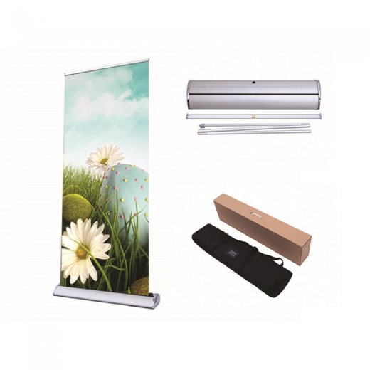 Retractable Standing Banner