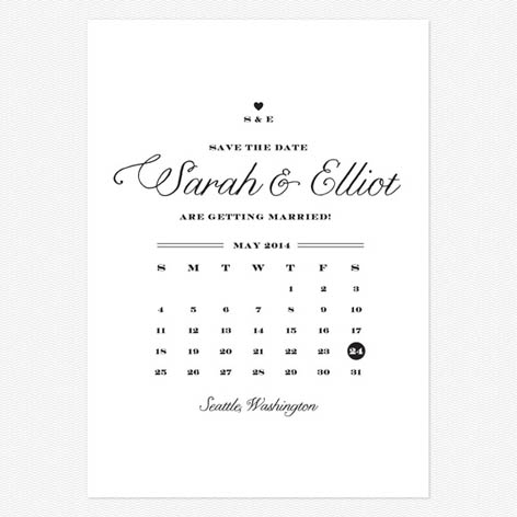 High quality save the date cards printing