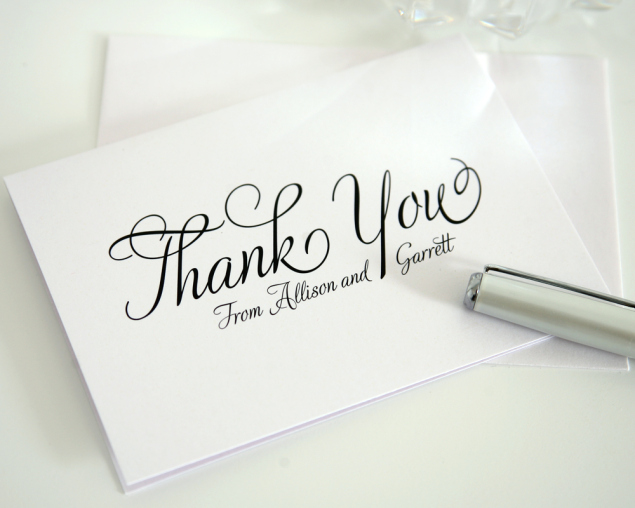 Thank you cards printing