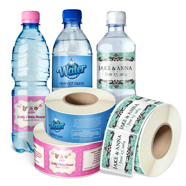 Roll Water Bottle Labels