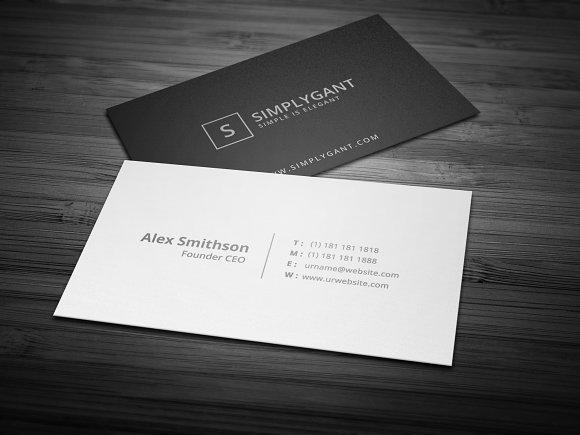 Linen Textured Business Cards