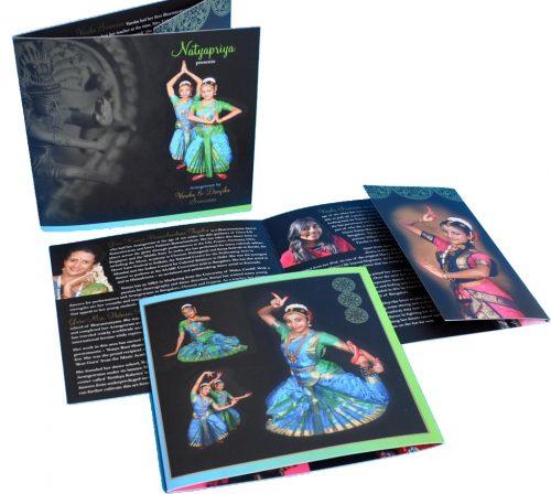 arangetram brochure printing vprint fairfax va