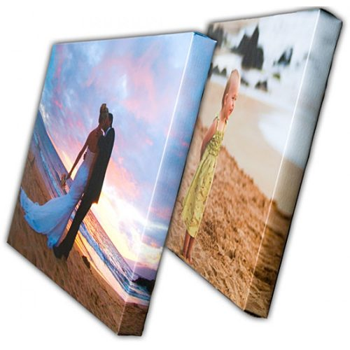 Canvas Mounted on Wooden Frames