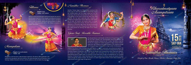 Brochure Arangetram