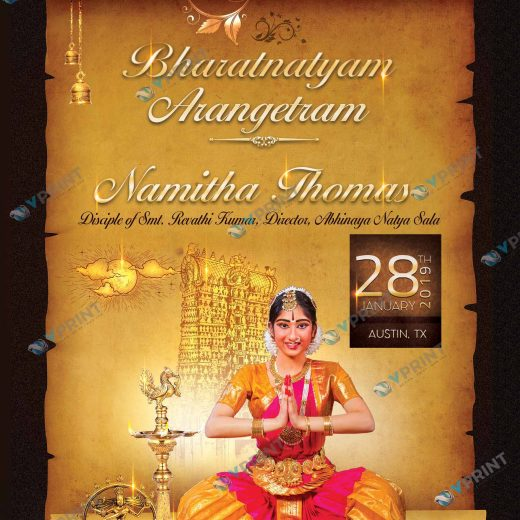 Arangetram invites