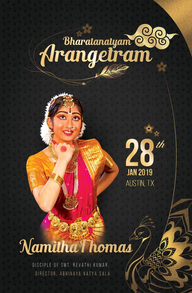 arangetram invitations