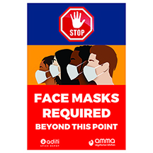Covid 19 facemask posters